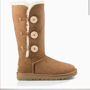 Ugg Boots Tall Triple Bailey Button
